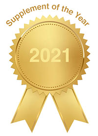 Cognition Supplement of the Year: 2021Award Ribbon | MCI 911 Mild Cognitive Impairment