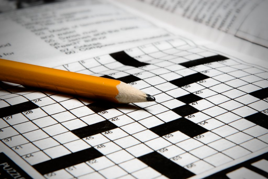 The Crossword Conundrum — Helpful for Cognition? Article | MCI 911
