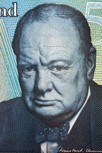 Image of Prime Minister Winston Churchill